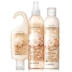 Vanilla & Sandalwood 3-Piece SetFree with $50. Use Code: SANDALWOOD. Expires Midnight ET 1/22/2016. Direct Delivery Only. While Supplies Last.We reserve the right to substitute a free gift of equal or lesser value. Limit 1 Per Order.3-Piece Set Includes:Naturals Vanilla & Sandalwood Shower Gel5 fl. oz.Naturals Vanilla & Sandalwood Body Spray8.4 fl. oz.Naturals Vanilla & Sandalwood Body Lotion8.4 fl. oz.