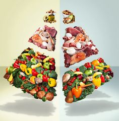 The Improved Food Pyramid | Muscle & Fitness