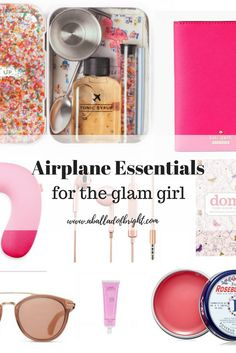 airplane essentials, travel essentials, carry on packing list
