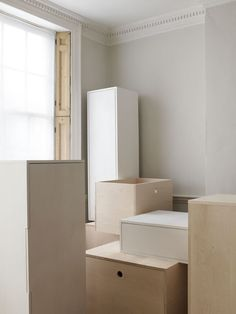 studio vit - 11 boxes is a typology of storage units based on the idea of an archetypal box