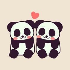 ❤️  #panda #pandakuma  #love #heart https://store.line.me/stickershop/detail?packageId=1001741