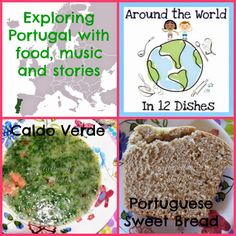 Crafty Moms Share: Around the World in 12 Dishes: Portugal Portuguese Sweet Bread, Portuguese Recipes, School Projects, Projects For Kids, School Ideas, Potato Mashers, Potato Soup, Cooking Dishes, Food Dishes