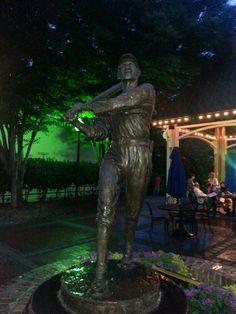 Shoeless Joe Jackson Statue