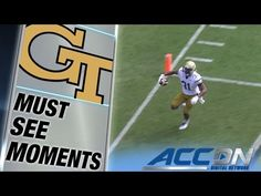 Georgia Tech's Deon Hill Unbelievable Game-Winning TD | ACC Must See Moment