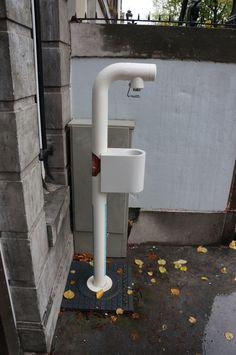 """.@DeGezondeStad Amsterdam (De Groene Bocht 1 - Keizersgracht 253): """"Vergeet niet je flesje water te vullen als je op zoek bent naar het #grachtencode-zegel bij onze gevel..."""""""