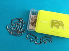 Elephant Paperclips.