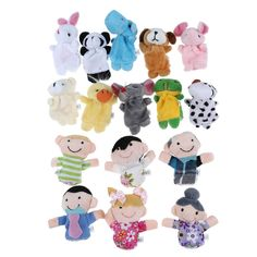 Family Finger Puppets CP | Baby, Toys for Baby, Developmental Baby Toys | eBay!