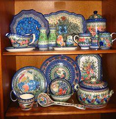 polish pottery.