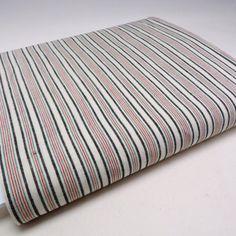 Superb Vintage Ticking Fabric Yardage