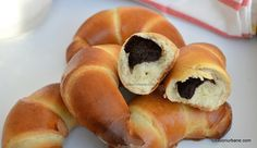 Croissant, Dough Recipe, Bagel, Doughnut, Food To Make, Sushi, Chicken Recipes, Easy Meals, Food And Drink