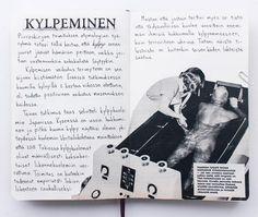 Kuva on saksittu 60-luvun Kauppa ja koti -lehdestä. #kylpeminen #etymologia #sketchbook #collage #terveys #ikaalistenkylpylä #furo #japan Koti, Petra, Cover, Books, Instagram, Libros, Book, Book Illustrations, Libri