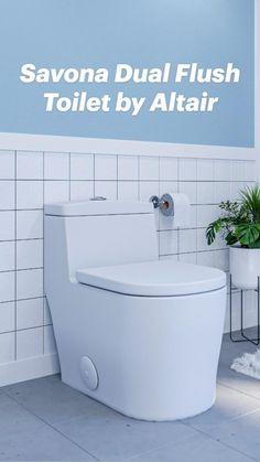 White Bathroom, Small Bathroom, Master Bathroom, Bathroom Vanities, Modern Bathroom Design, Bathroom Interior Design, Dual Flush Toilet, Minimalist Bathroom, Restoration Hardware