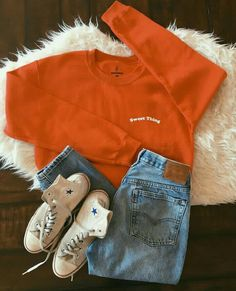 P E R F E C T Casual School Outfits, Outfits For Teens, College Outfits, Fall Outfits, Summer Outfits, Cute Outfits, Fashion Outfits, Womens Fashion, Aesthetic Clothes
