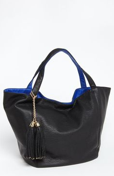 Deux Lux 'Juno' Reversible Faux Leather Tote #NSale #Nordstrom