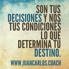 #coaching  www.JuanCarlos.coach  Buenos Días