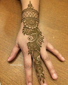 Simple Floral Mehndi Henna Designs For Hands - ArtsyCraftsyDad Indian Henna Designs, Simple Arabic Mehndi Designs, Full Hand Mehndi Designs, Mehndi Designs 2018, Mehndi Designs For Beginners, Mehndi Designs For Girls, Mehndi Design Photos, Wedding Mehndi Designs, Dulhan Mehndi Designs