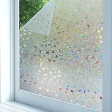 3d Static Cling Window Film Frosted Decor For Glass Privacy Coverings Bloss Stained Glass Window Film Window Film Frosted Windows