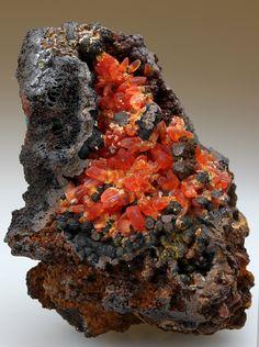 RHODOCHROSITE Minerals from Wolf Mine, Herdorf, Siegerland, Rhineland-Palatinate, Germany, Europe at Crystal Classics