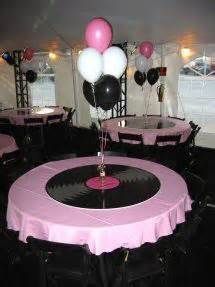 Grease party decorations sock hop birthday ideas best classroom themes images on birthdays s supplies for sale 50s Theme Parties, 70th Birthday Parties, Party Themes, Birthday Ideas, 70s Party Decorations, School Dance Decorations, Grease Themed Parties, 50th Birthday Themes, 80s Theme