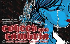 coheed and cambria concert poster - Google Search