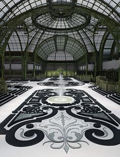 The Grand Palais - Paris Chanel SS 2011