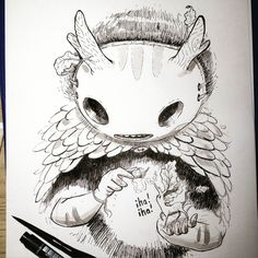https://www.behance.net/gallery/31176995/Inktober-2015?utm_medium=email