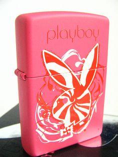 Pink Candy Swirl Playboy Zippo Lighter | Flickr - Photo Sharing!