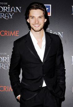 "Ben Barnes at The Premiere of ""Dorian Gray"" at Kinepolis Cinema in Madrid."