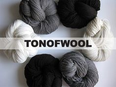 TON OF WOOL by Kylie Gusset