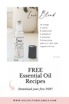 20 recipes for your dōTERRA and Young Living essential oils. Easy 10ml roller bottle recipes.