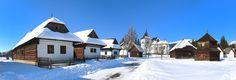 Liptovské múzeum vRužomberku - OZNAM: otvorenie Múzea liptovskej dediny Winter Holidays, Cabin, House Styles, Outdoor, Home Decor, Winter Vacations, Cabins, Cottage, Interior Design