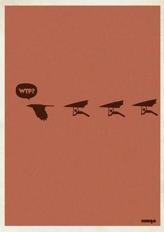 WTF Posters By Estudio Minga