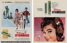 Calmante vitaminado, 1963 y 1964 Retro 1, Vintage, Cover, Cannabis, Chill Pill, Frases, Retro Ads, Old Advertisements, Pharmacy