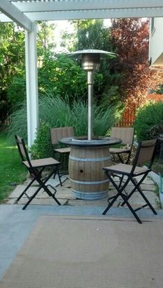 All Weather Woven Patio Our Towering All Weather Woven Heater Blends In  Seamlessly With Your Outdoor Wicker Decor. | Entertaining Alfresco |  Pinterest ...