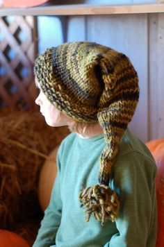 I bought this Shorter stocking cap included  PDF ebook  Knitting Patterns   Knit Cowl Pixie by thesittingtree, $9.00
