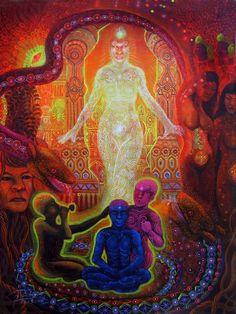 Artist: Felix Pinchi AguirreAyahuasca Retreat and Art Residencies in the Bolivian Amazon.