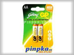Pin tiểu AA GP Ultra Alkaline Battery - Hotline: 0903976887 (Ms.Lan Anh) - Email: phongkimanh8@gmail.com - Yahoo: pinpka