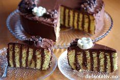 Spiralkake med sjokoladekrem   Det søte liv