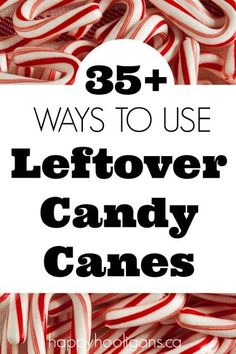 Creative Ways to Use Leftover Candy Canes – Happy Hooligans – Candy Cane Noel Christmas, Christmas Goodies, Christmas Candy, Christmas Desserts, Holiday Treats, Christmas Treats, Christmas Baking, Holiday Fun, Holiday Recipes