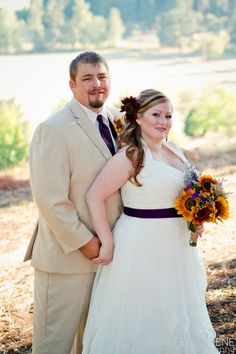 Great to see pics of larger brides and grooms.
