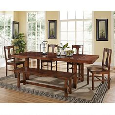 Love our new Hudson 6-Piece Dining Set from World Market!!!