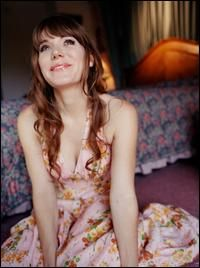 Maybe the cutest girl in all the land?  Jenny Lewis trumps all.