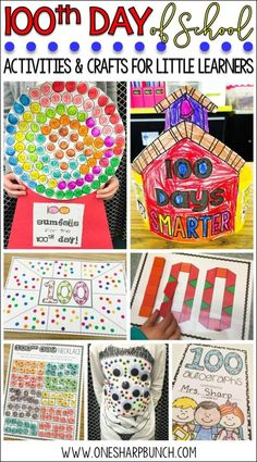 Celebrate the Day of school with these engaging Day of School ideas. sure to have your kiddos begging for more Day of Kindergarten fun! Check out how this teacher adapted the Day of school gumball machine to support her kindergarten students! 100 Days Of School Centers, 100th Day Of School Crafts, 100 Day Of School Project, 100th Day Project Ideas, Kindergarten Shirts, Kindergarten Projects, Kindergarten Graduation, Kindergarten Classroom, Classroom Ideas