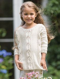 MAGNOLIA from Little Rowan Blossom (ZB203). A collection for girls aged 3 to 6…