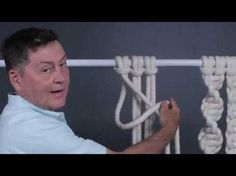 Make a knotted macrame friendship bracelet - jewelry making tutorial - YouTube