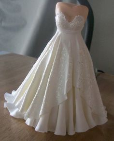 bridal gown topper