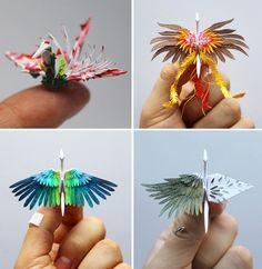 When we last mentioned origami enthusiast Cristian Marianciuc he had just completed the creative challenge of designing a new decorative origami crane daily for 365 days. But then... he didn't stop. For nearly three years, Marianciuc continued to produce a vast flock of 1,000 paper birds decorated w