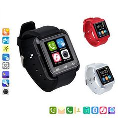 $45 for U80 Rubber Band Smart Watch | DrGrab