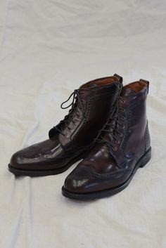 42505bc74a2 Allen Edmonds - Dalton Boot in Burgundy Shell Cordovan Allen Edmonds  Dalton