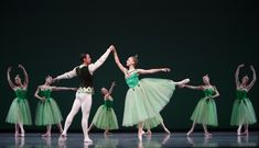 Wardrobe: Types of Tutus | Elizabeth Murphy in George Balanchine's Emeralds